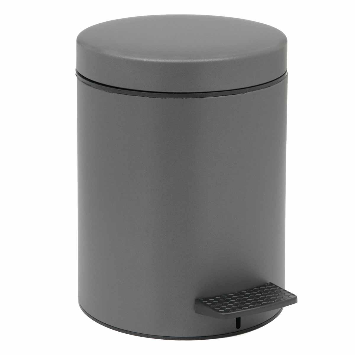 Κάδος Απορριμμάτων (23×32) PamCo 8Lit 500 Anthracite Matte
