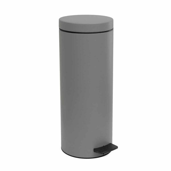 Κάδος Απορριμμάτων (20x53) PamCo 16Lit 2053 Concrete Grey Matte