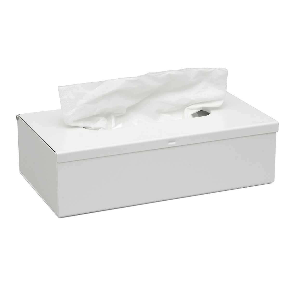 Θήκη Για Χαρτομάντηλα PamCo 120-033 White Matte
