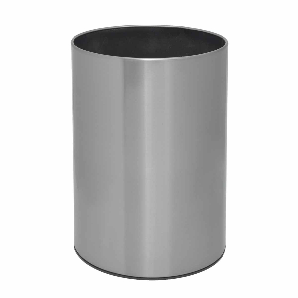 Καλάθι Απορριμμάτων (25x33) PamCo 12Lit 2536 Satine Nickel
