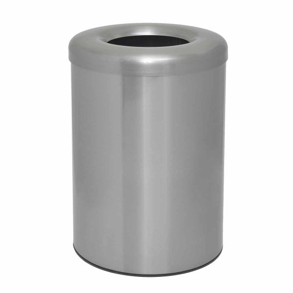 Καλάθι Απορριμμάτων (25x35) PamCo 12Lit 2536K Satine Nickel
