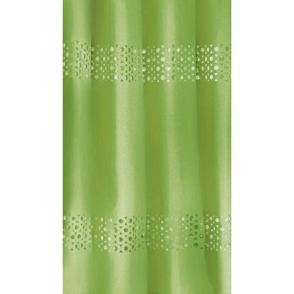 Κουρτίνες Μπάνιου 1+1 Guy Laroche Double Lime