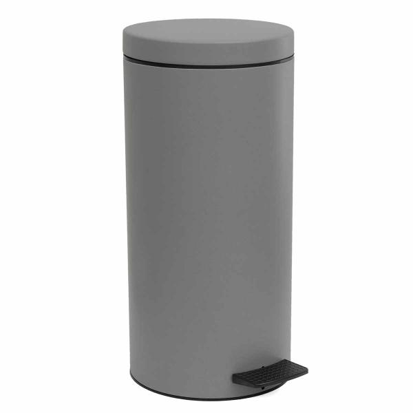 Κάδος Απορριμμάτων (25x53) PamCo 18Lit 045 Concete Grey Matte