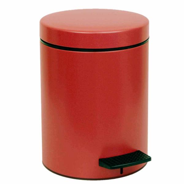 Κάδος Απορριμμάτων (23x32) PamCo 8Lit 500 Red Matte