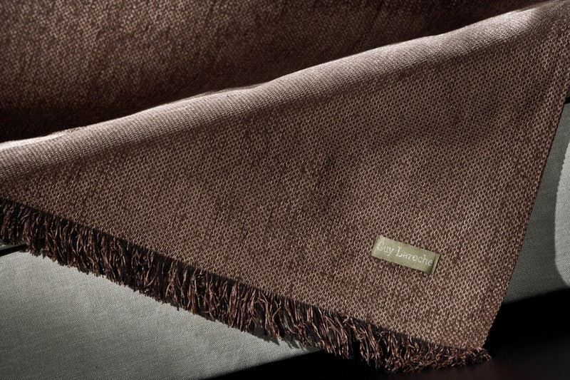 Ριχτάρι Τριθέσιου (180x280) Guy Laroche Gallery Choco home   σαλόνι   ριχτάρια καναπέ