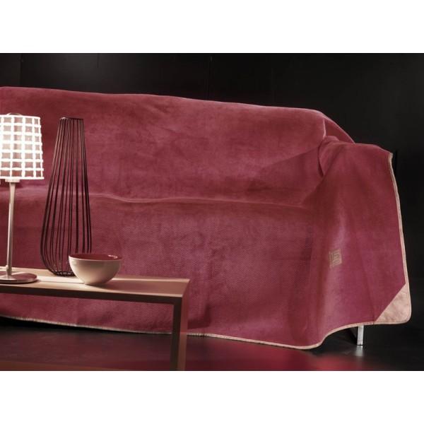 Ριχτάρι Πολυθρόνας (170x150) Guy Laroche Ruby Burgundy