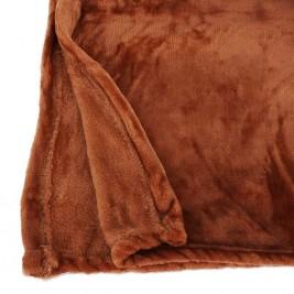 Κουβέρτα Καναπέ InArt Flannel Brown 3-40-143-0002