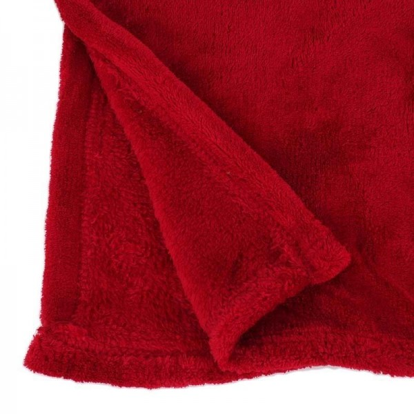 Κουβέρτα Καναπέ InArt Coral Burgundy 3-40-143-0008