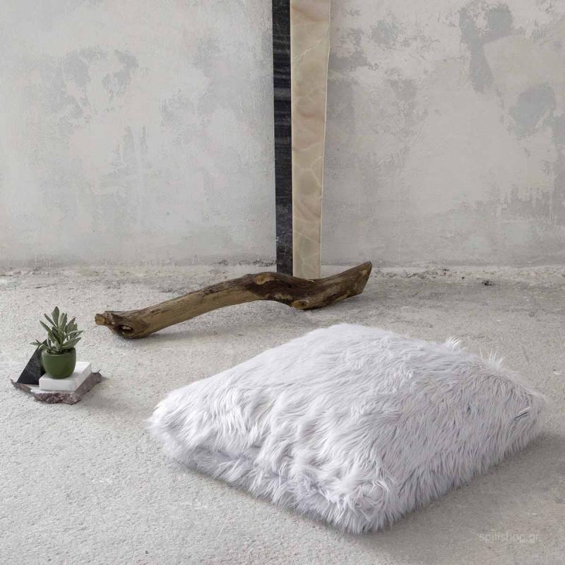 Μαξιλάρα Δαπέδου Nima Floor Pillows Fluffy Grey