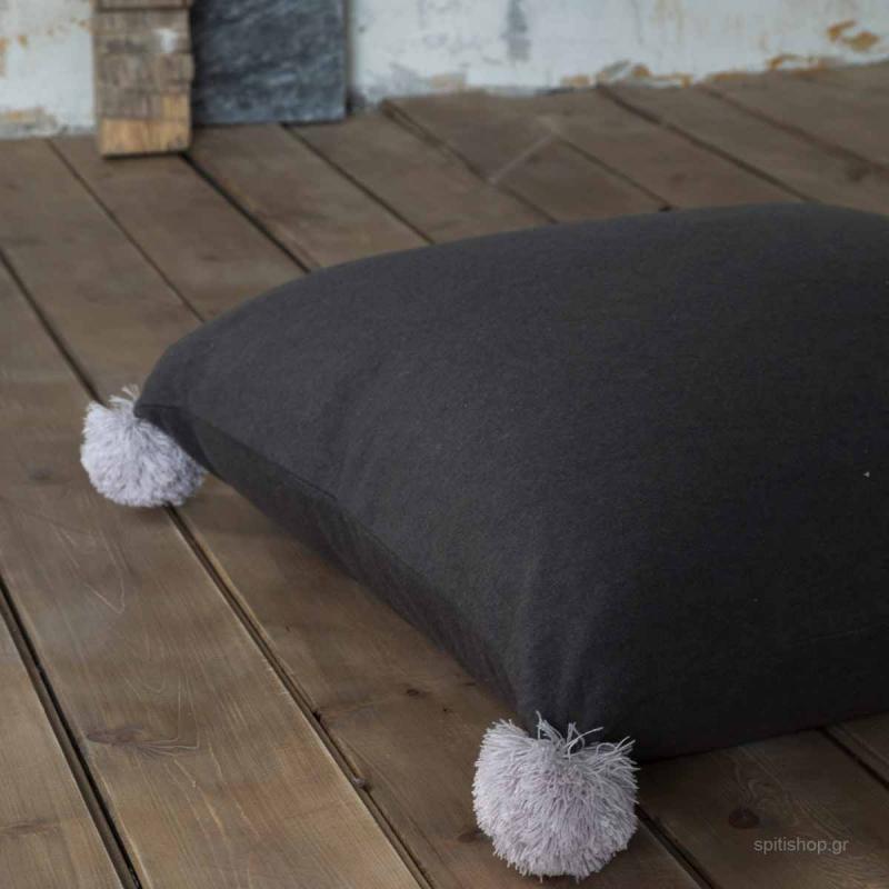 Μαξιλάρα Δαπέδου Nima Floor Pillows Soft On Grey