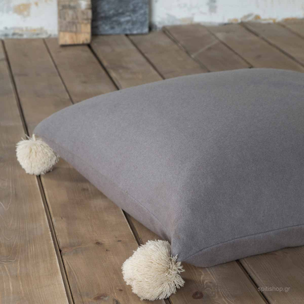 Μαξιλάρα Δαπέδου Nima Floor Pillows Soft On Taupe