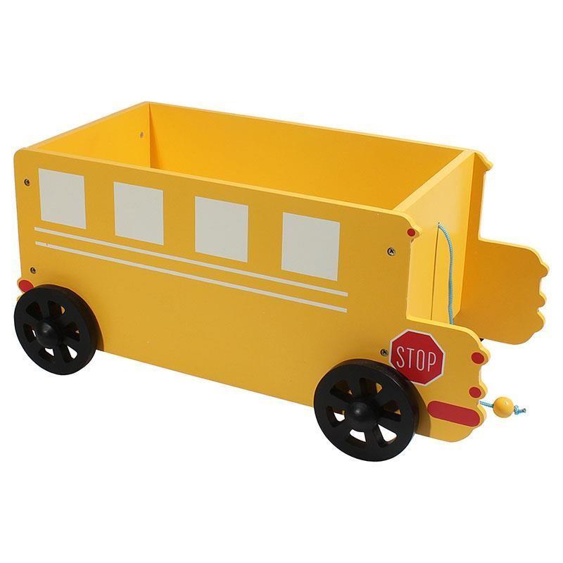 Παιδικό Καλάθι InArt School Bus 3-70-304-0003