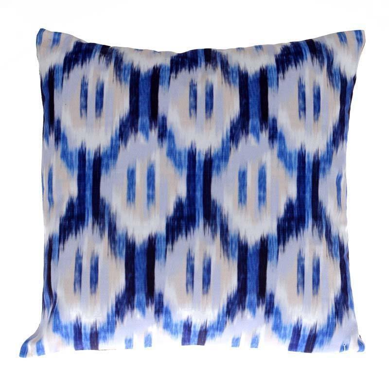 Διακοσμητικό Μαξιλάρι InArt Ikat Blue 3-40-359-0001