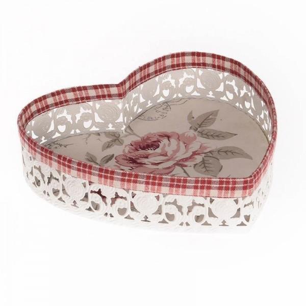 Καλάθι InArt Tartan Rose 3-70-380-0001