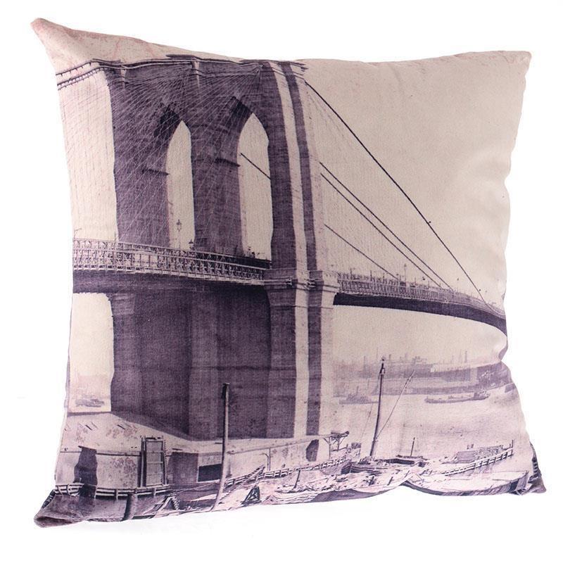 Διακοσμητικό Μαξιλάρι InArt Brooklyn Bridge 3-40-384-0010