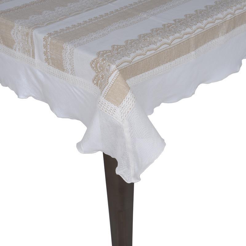 Τραπεζομάντηλο (120x120) InArt Baroque Lace 3-40-187-0031