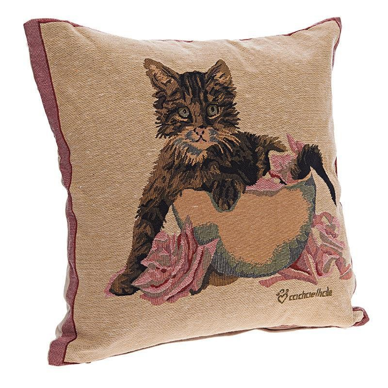 Διακοσμητικό Μαξιλάρι InArt Feline Charm 3-40-168-0042