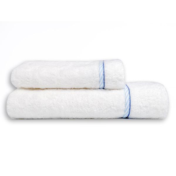 Βρεφικές Πετσέτες (Σετ 2τμχ) Mother Touch B-Line Blue