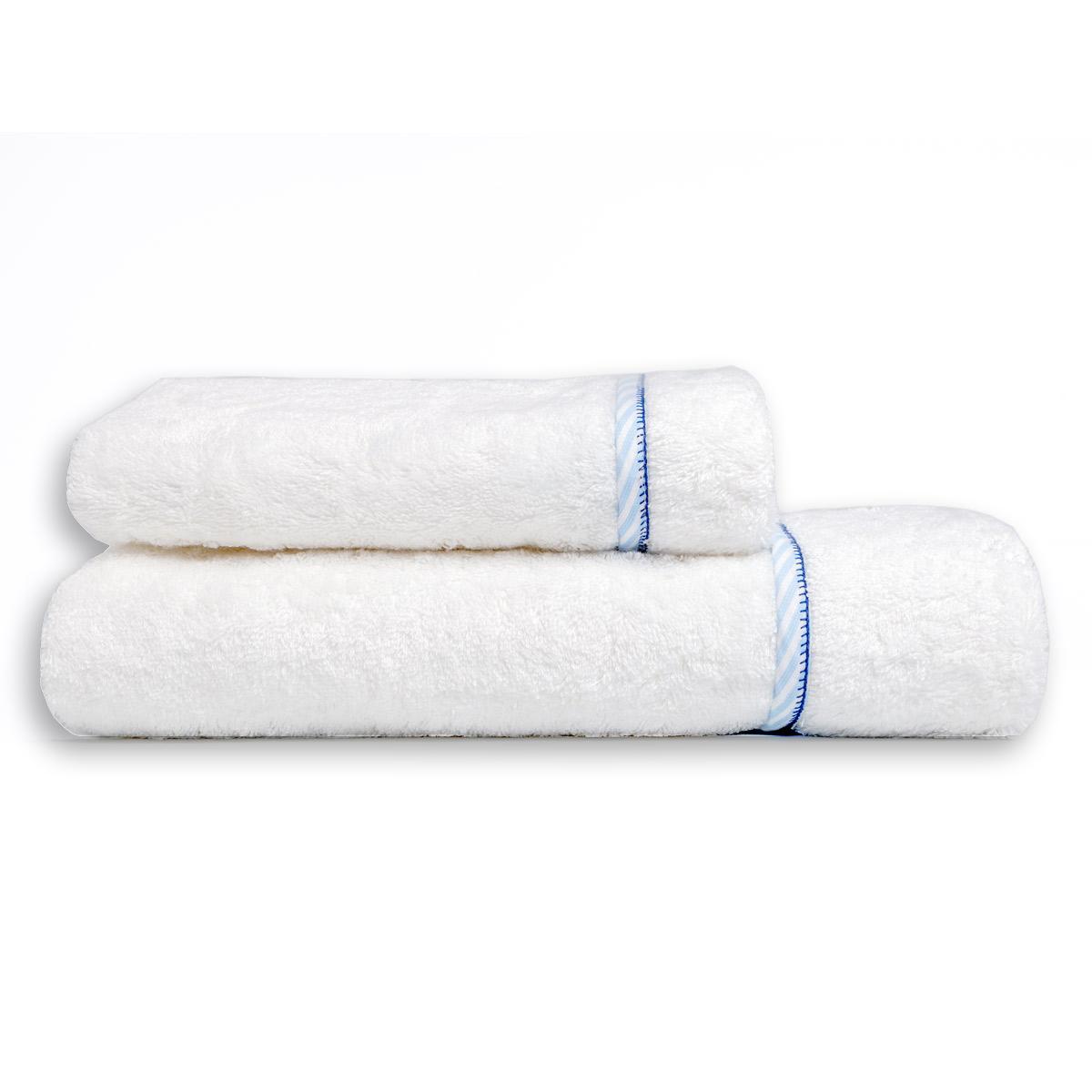 Βρεφικές Πετσέτες (Σετ 2τμχ) Mother Touch Frame Blue