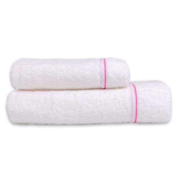 Βρεφικές Πετσέτες (Σετ 2τμχ) Mother Touch Colette Pink