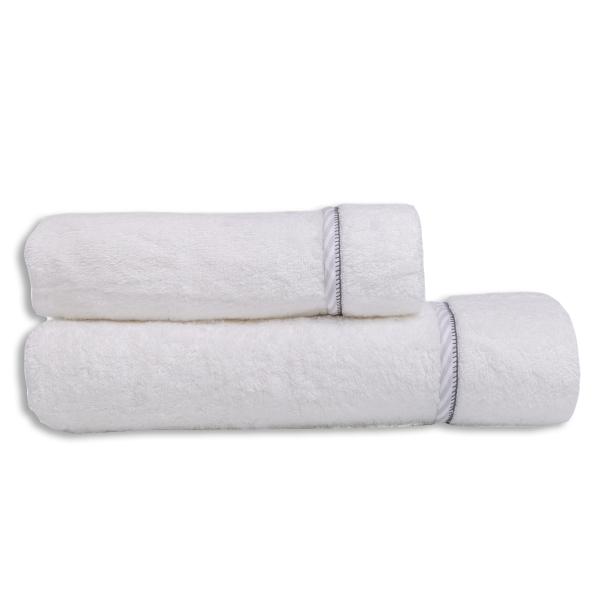 Βρεφικές Πετσέτες (Σετ 2τμχ) Mother Touch Colette Grey