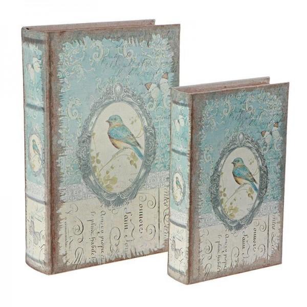 Κουτιά/Βιβλία Αποθήκευσης (Σετ 2τμχ) InArt 3-70-435-0190