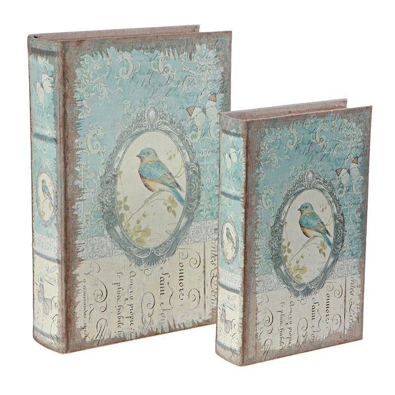 Κουτιά/Βιβλία Αποθήκευσης (Σετ 2τμχ) InArt 3-70-435-0190 41725