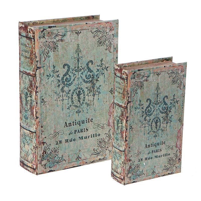 Κουτιά/Βιβλία Αποθήκευσης (Σετ 2τμχ) InArt 3-70-435-0192