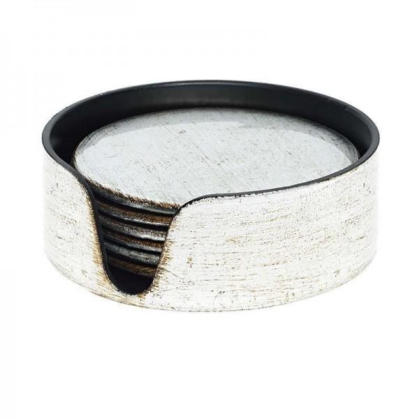 Σουβέρ (Σετ 6τμχ) InArt Antique Silver 3-70-019-0123