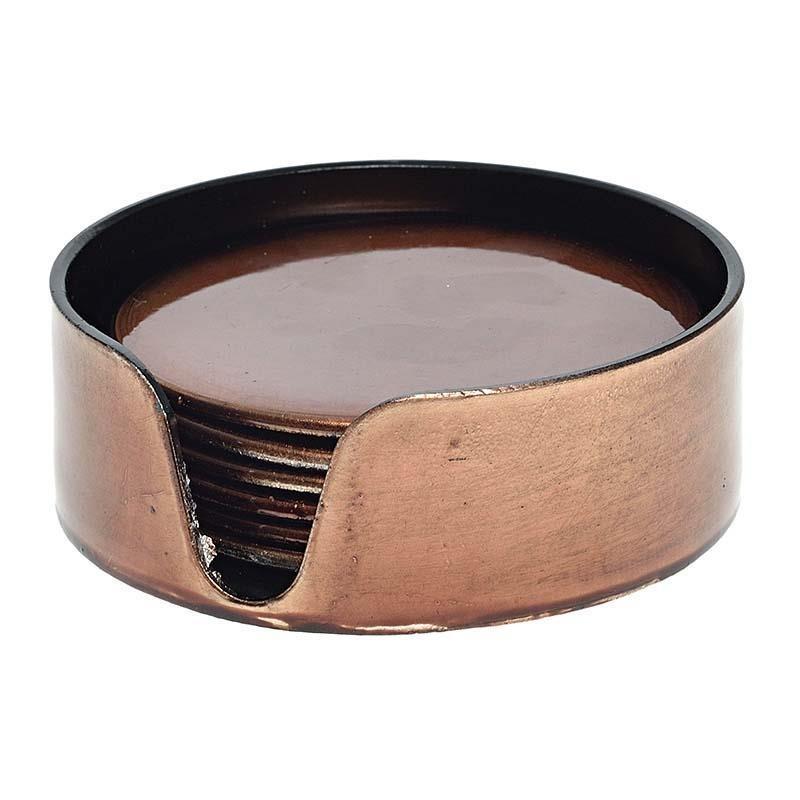 Σουβέρ (Σετ 6τμχ) InArt Walnut Brown 3-70-019-0124