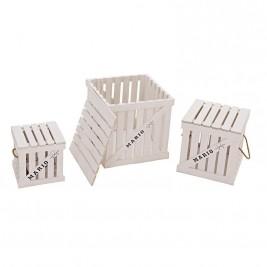 Κουτιά Αποθήκευσης (Σετ 3τμχ) InArt Mario 3-70-463-0005