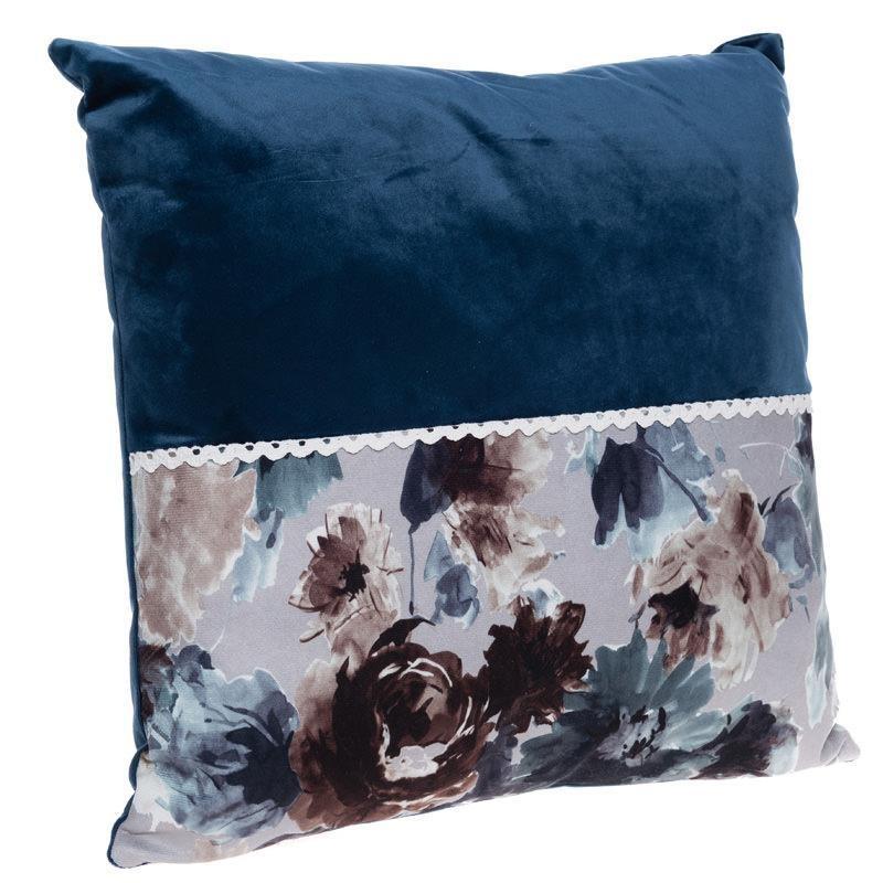 Διακοσμητικό Μαξιλάρι InArt Blue Velvet 3-40-721-0031