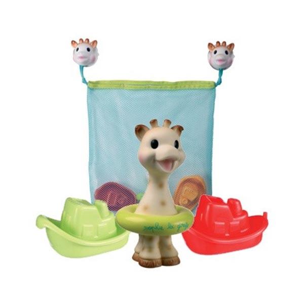 Παιχνίδια Μπάνιου + Δίχτυ Φύλαξης (Σετ) Sophie The Giraffe 52340