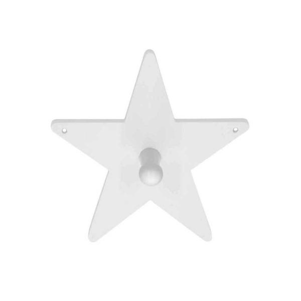 Κρεμάστρα Τοίχου 1 Θέσης Kids Concept Star KC120699 White