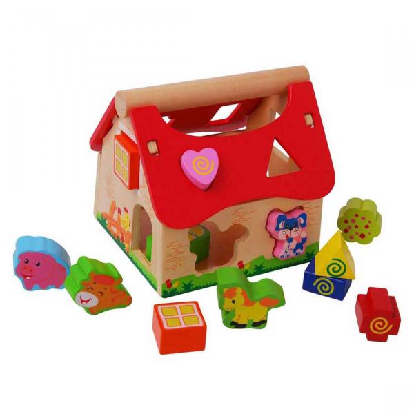 Ξύλινο Εκπαιδευτικό Παιχνίδι Gerardo's Toys Φάρμα GΤ61012