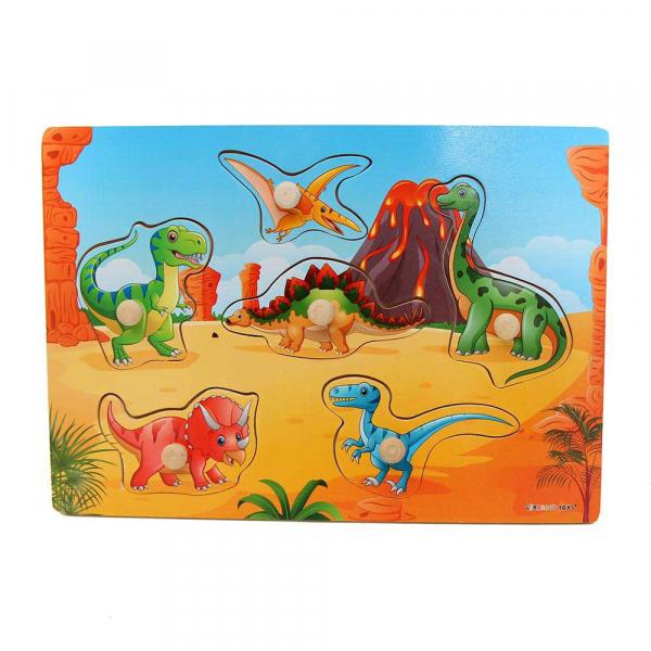 Ξύλινο Παζλ Gerardo's Toys Δεινόσαυροι GΤ61116