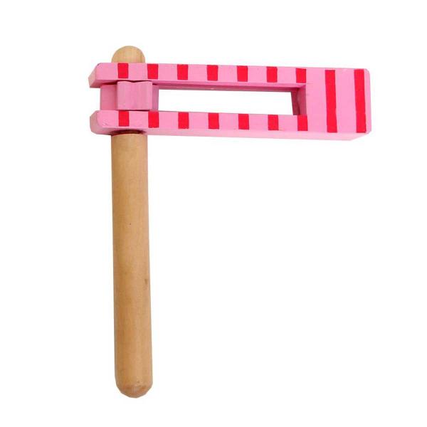 Ξύλινo Παιχνίδι Gerardo's Toys Ροζ Ροκάνα GΤ61128