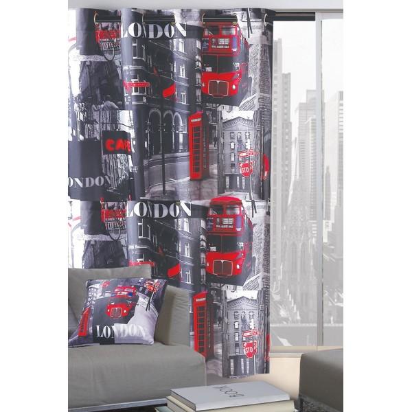 Κουρτίνα (140x280) Με Τρουκς & Μαξιλάρι Das Home 9216
