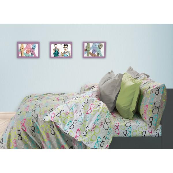 Σεντόνια Μονά (Σετ) Das Home Kid Prints 4518