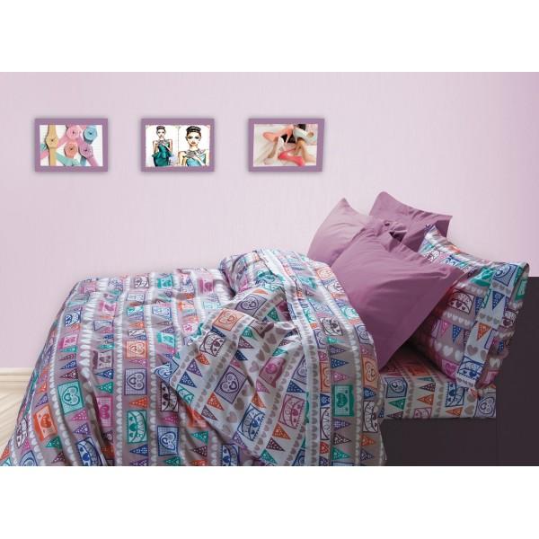 Σεντόνια Μονά (Σετ) Das Home Kid Prints 4524