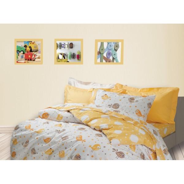 Σεντόνια Μονά (Σετ) Das Home Kid Prints 4525