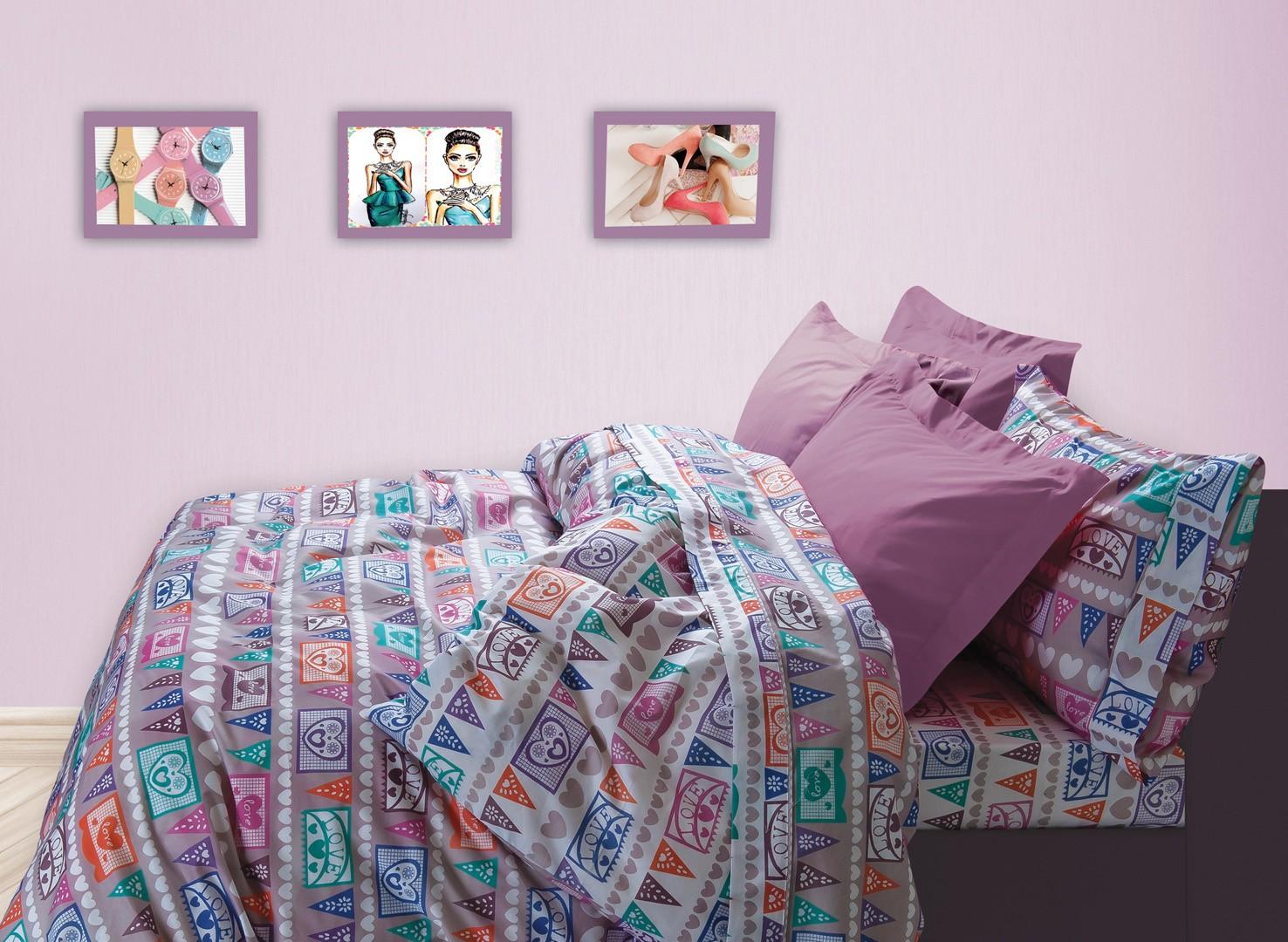 Κουβερλί Μονό (Σετ) Das Home Kid Prints 4524