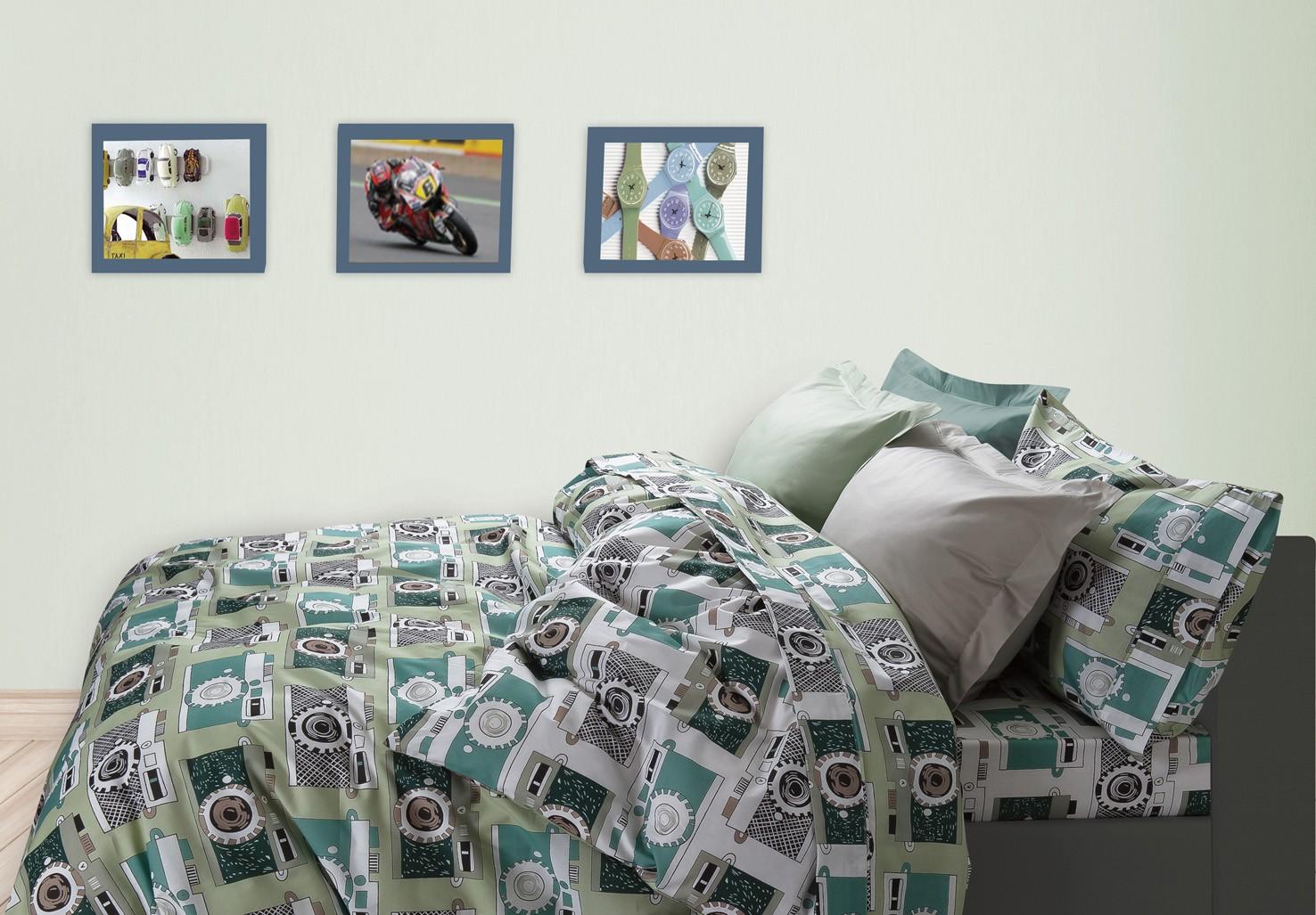 Κουβερλί Μονό (Σετ) Das Home Kid Prints 4526