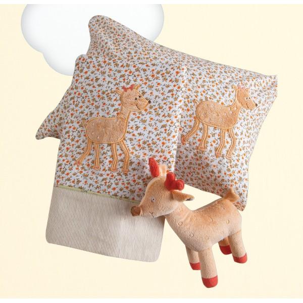 Σεντόνια Κούνιας (Σετ) Das Home Dream Embroidery 6277