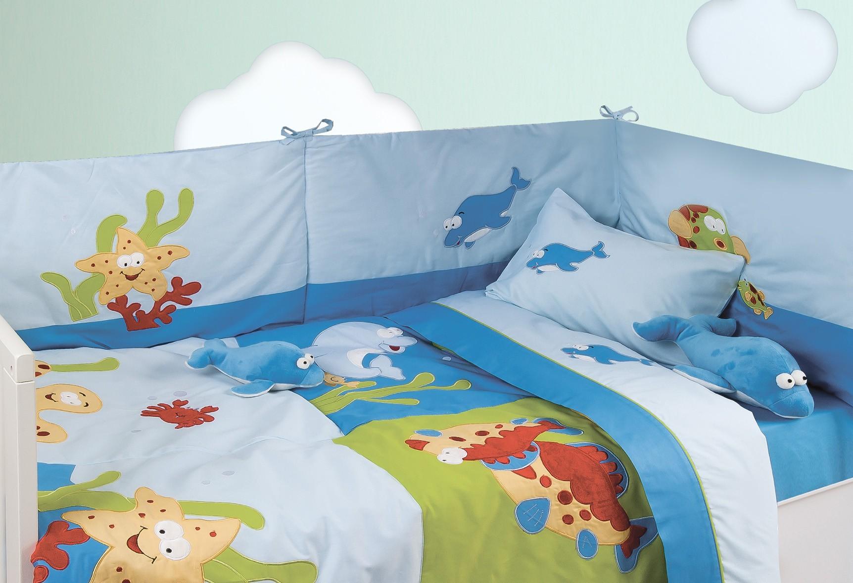 Κουβερλί Κούνιας (Σετ) Das Home Dream Embroidery 6276