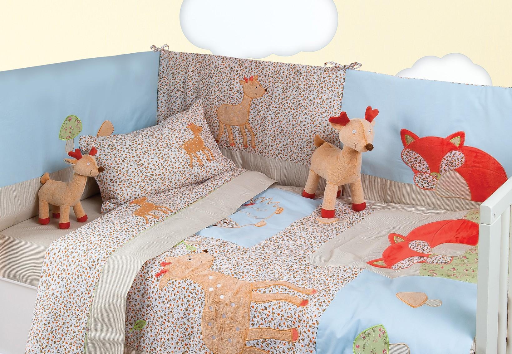 Κουβερλί Κούνιας (Σετ) Das Home Dream Embroidery 6277