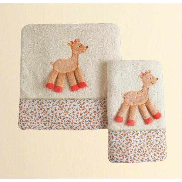 Βρεφικές Πετσέτες (Σετ 2τμχ) Das Home Dream Embroidery 6277
