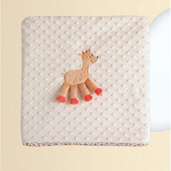 Κουβέρτα Fleece Κούνιας Das Home Dream Embroidery 6277