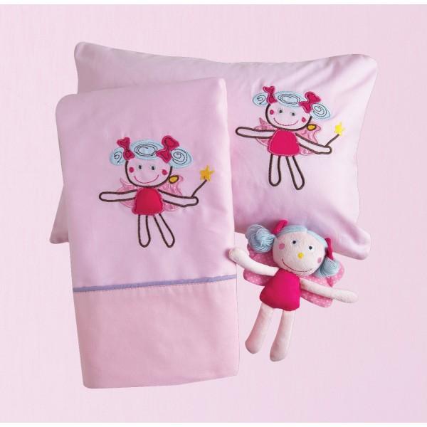 Σεντόνια Κούνιας (Σετ) Das Home Dream Embroidery 6281
