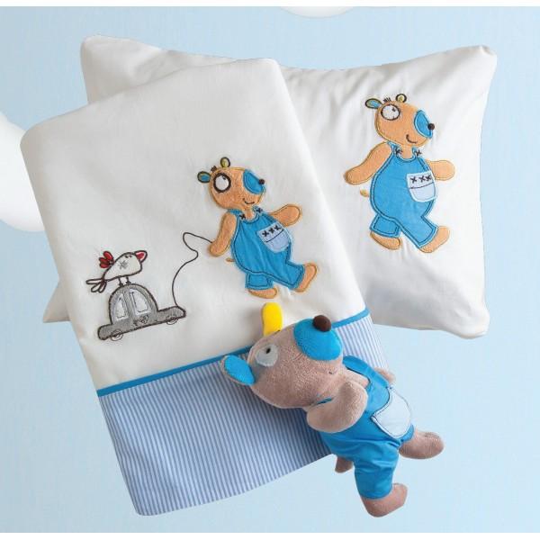 Σεντόνια Κούνιας (Σετ) Das Home Dream Embroidery 6282